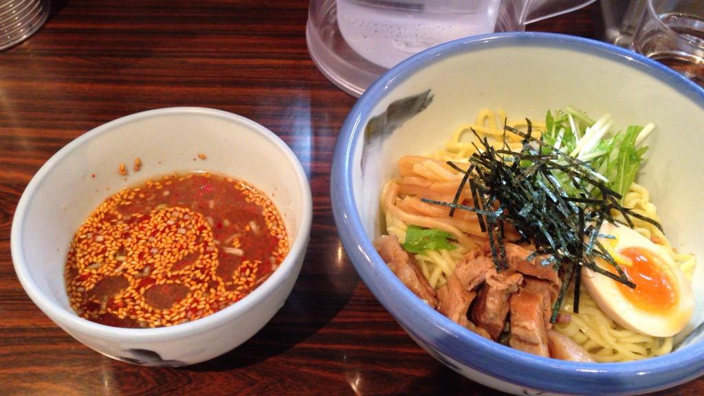 つけ麺 並 柚子露 930円!
