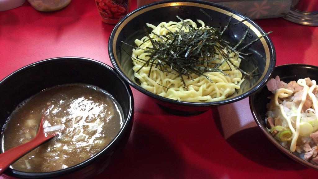 あさり煮干つけ麺+半まかない飯