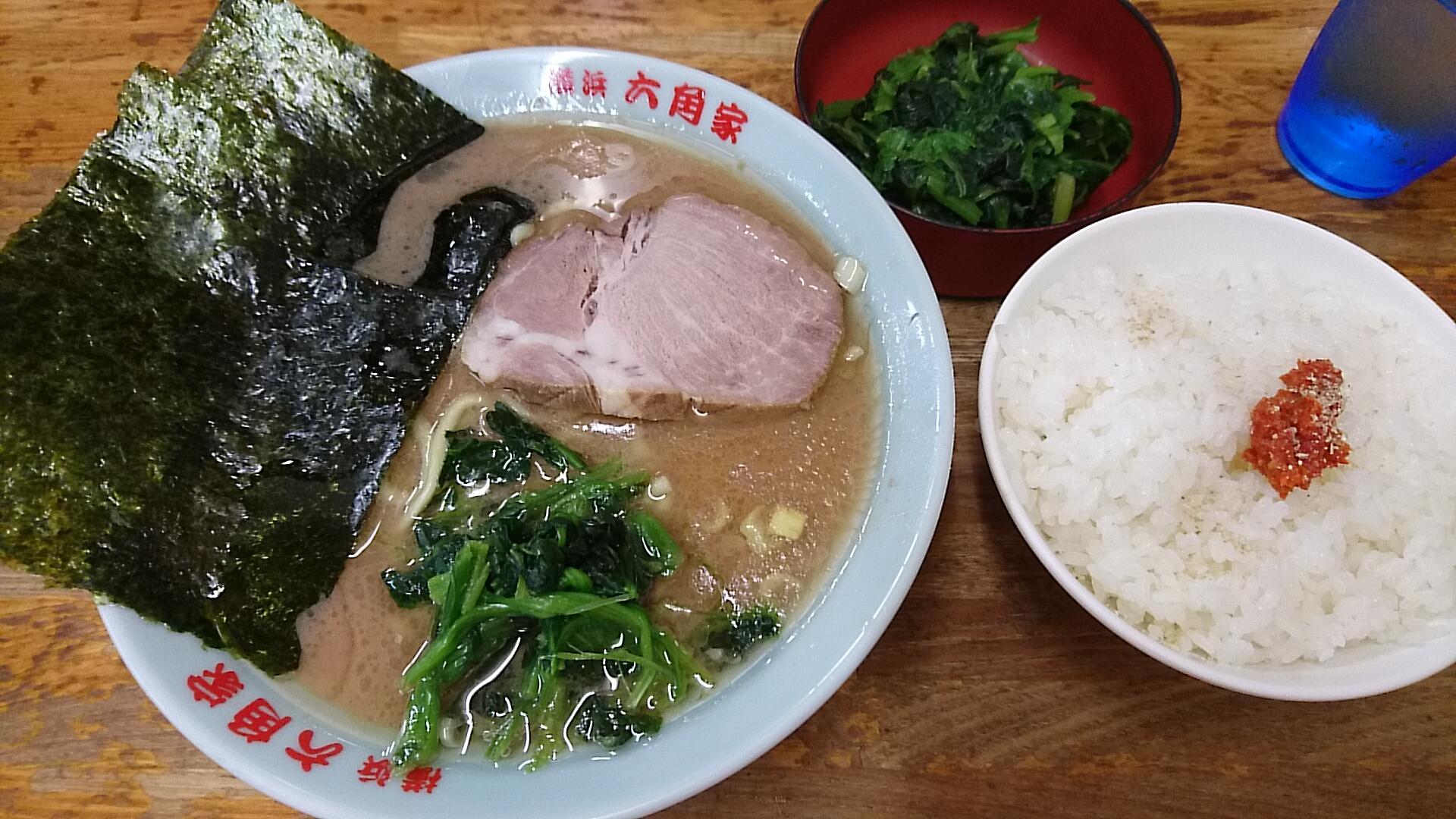 今日のラーメン:六角家 戸塚店 ...